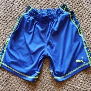 Boys Puma shorts